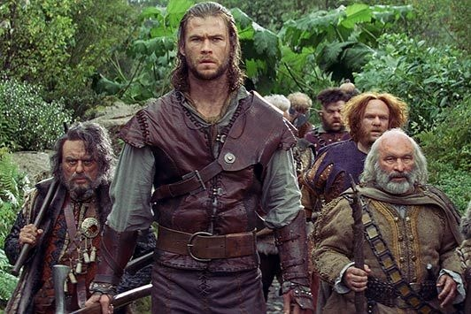 "Still from the film ""Snow White and the Huntsman."""