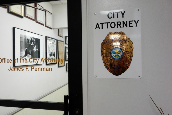 Office of City Attorney James Penman