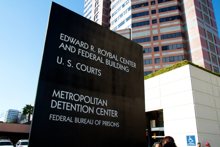 Metropolitan Detention Center Federal Building