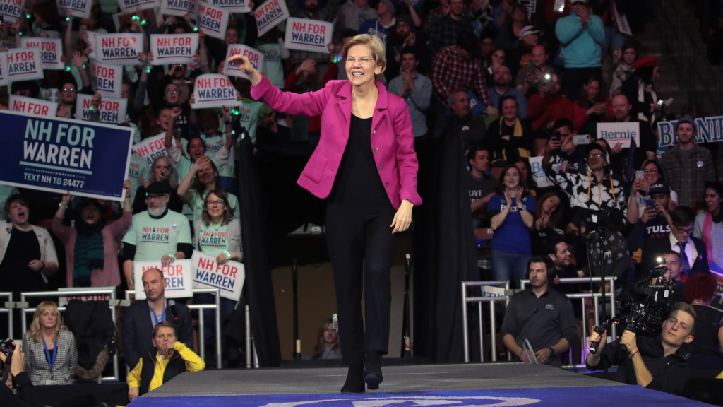 On the presidential campaign trail, Sen. Elizabeth Warren became known as the