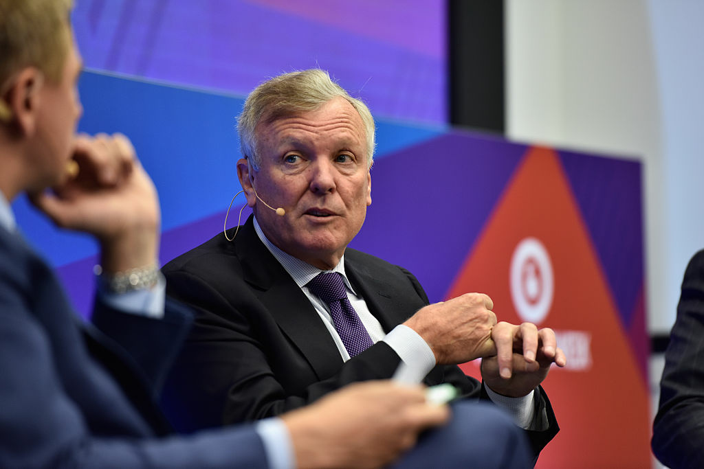 NEW YORK, NY - SEPTEMBER 29:  Chairman & CEO Charter Tom Rutledge speaks onstage at the Spectrum Reach Leadership Breakfast panel at the Nasdaq MarketSite during 2016 Advertising Week New York on September 29, 2016 in New York City.