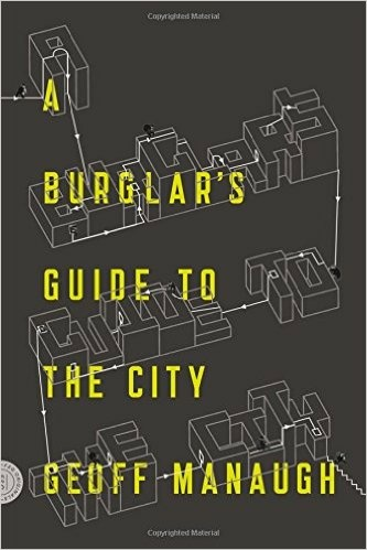 Cover art to the book, 'A Burglar's Guide to the City'.