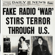 The front page of the October 31, 1938 New York Daily News.
