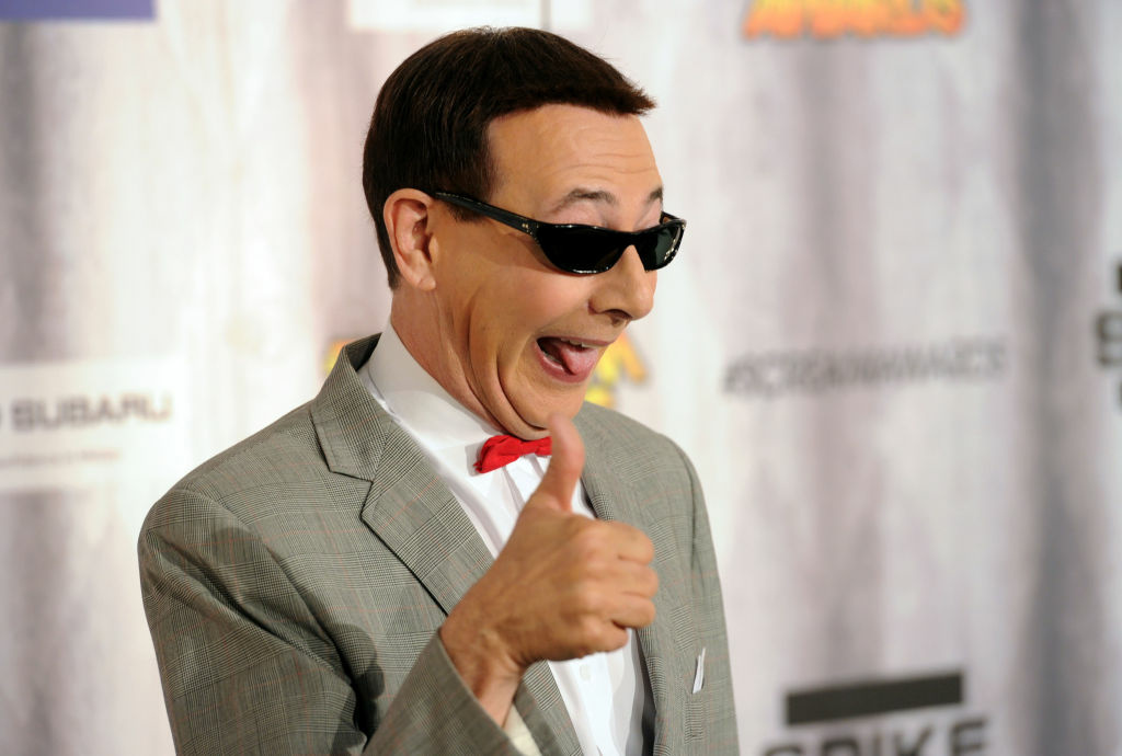 Actor Paul Reubens aka Pee-wee Herman arrives at Spike TV's SCREAM 2011 awards at Universal Studios on October 15, 2011 in Universal City, California.