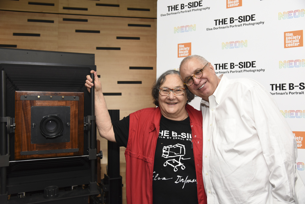Photographer Elsa Dorfman is the subject of the documentary