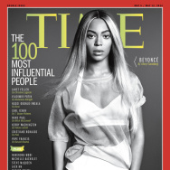 "This image released by Time shows entertainer Beyoncé on the cover of the magazine's ""100 Most Influential People"" issue."
