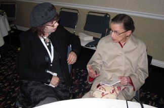 Patt and Supreme Court Justice Ruth Bader Ginsburg discuss the Constitution