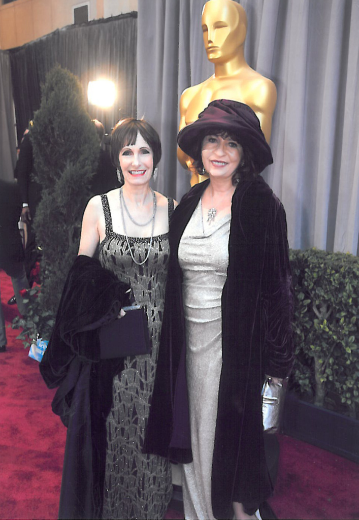 Patt on the Oscars red carpet, as the guest of her good friend, producer Gale Anne Hurd.