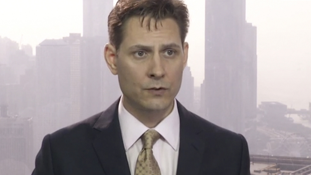 Michael Kovrig, seen here in a video from March 2018, was detained in China more than 80 days ago. Chinese officials say he's suspected of stealing state secrets; others say he is a pawn in a broader fight over Huawei executive Meng Wanzhou.
