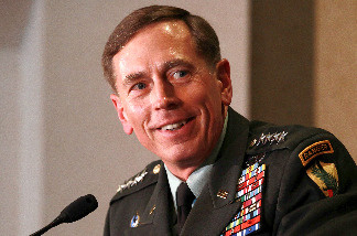Gen. David Petraeus speaks at the National Purple Heart Hall of Honor Tribute on June 25, 2010 in New Windsor, New York.