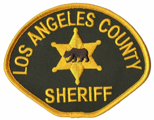 Los Angeles County Sheriff insignia.