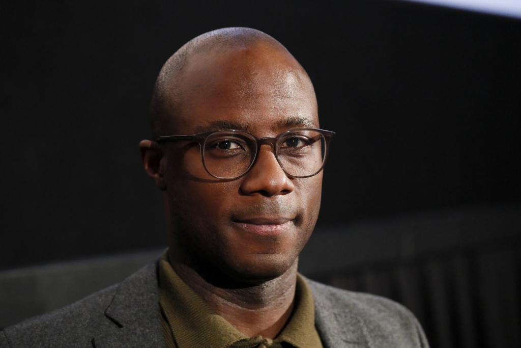 Director Barry Jenkins after a screening of