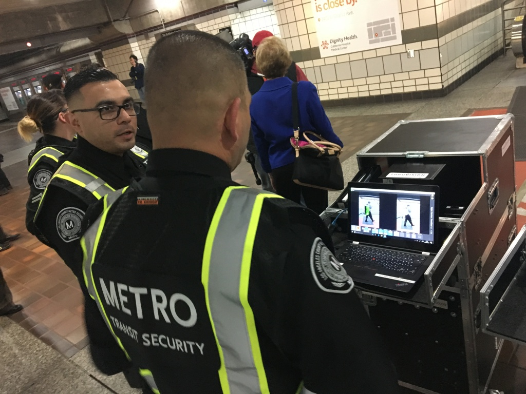 Metro Transit Security officers monitor