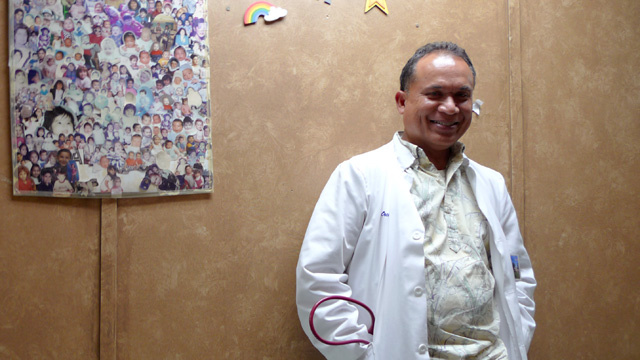 Seeing health as more than medical care, Dr. Oscar Sablan has served on Firebaugh's school board nearly 20 years.