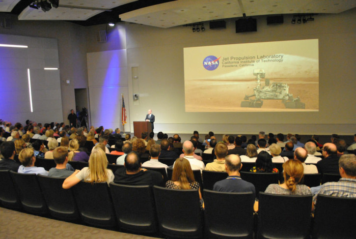 Governor Jerry Brown JPL Visit
