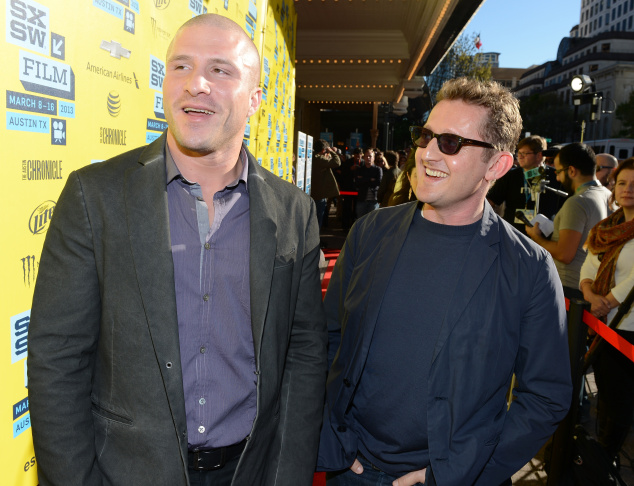 Napster Founder Shawn Fanning (L) and director Alex Winter attend the World Premiere of