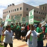 UCLA Medical Center Strike