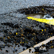 Pothole street repair