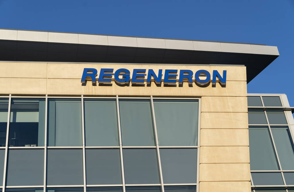 Regeneron has developed a drug called REGN-COV2 that is a combination of two monoclonal antibodies that block the virus that causes COVID-19. The company has a contract to supply up to 300 million doses to the U.S. government.