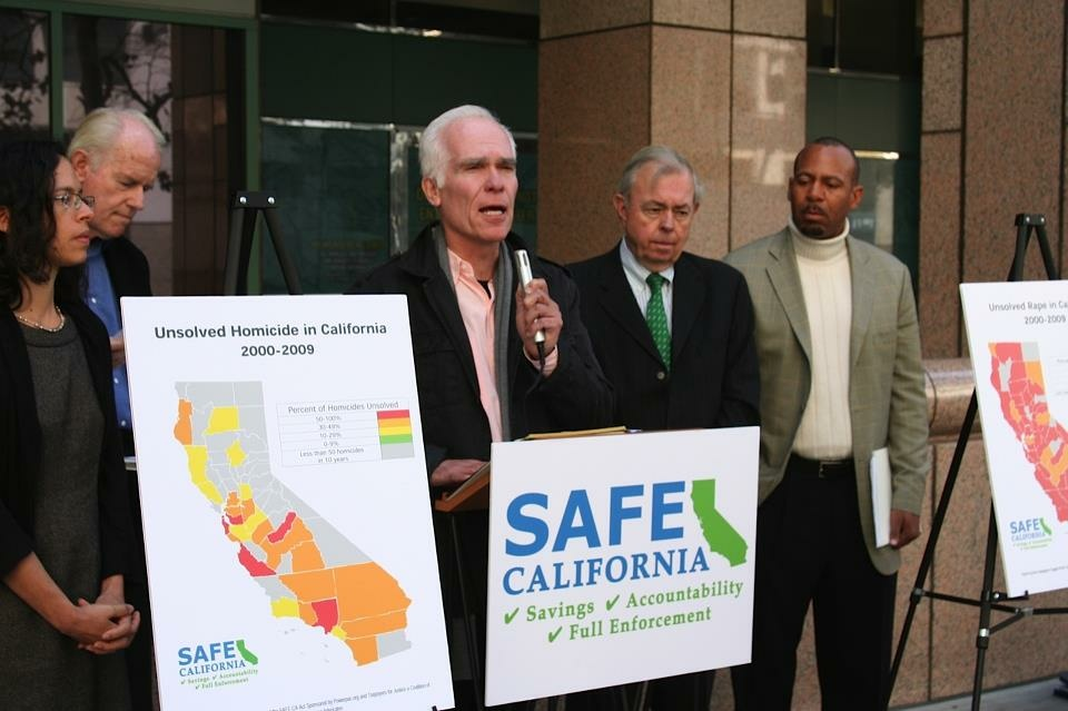Former District Attorney of Los Angeles County, Gil Garcetti, shows his support for the SAFE California Act.