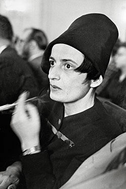 Novelist and screenwriter Ayn Rand