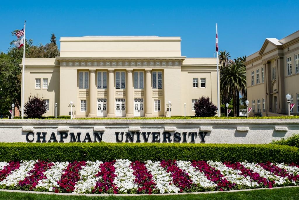 A photo of Chapman University on April 28, 2013.