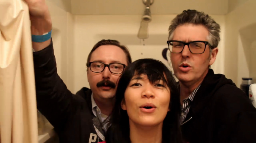 Ira Glass and John Hodgman appear with Thao Nguyen of Thao & The Get Down Stay Down in their new music video,