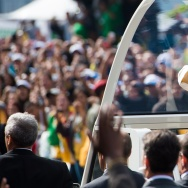 Pope Francis Celebrates Mass On Copacabana Beach