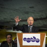 Space Shuttle Endeavour Grand Opening