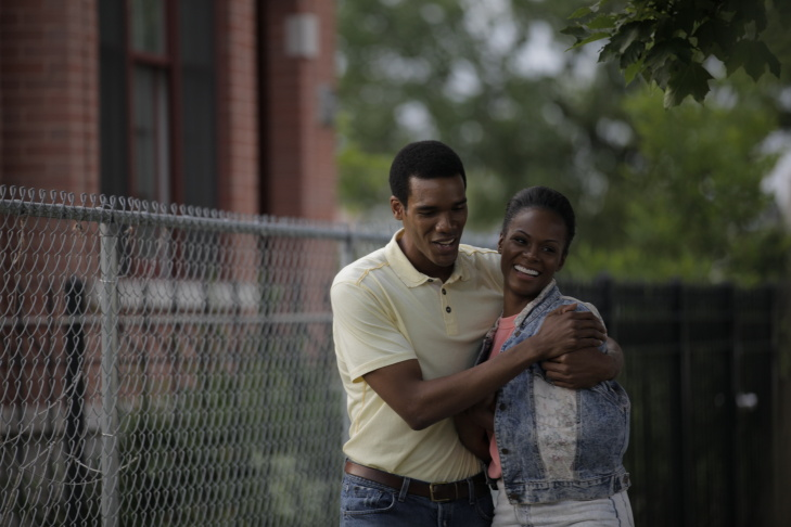 Tika Sumpter and Parker Sawyers in