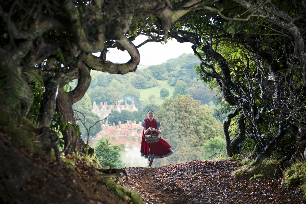 Lila Crawford stars as Little Red Riding Hood in