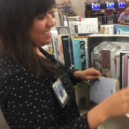 Ziba Zehdar-Gazdecki is the zine librarian at the Long Beach Public Library.