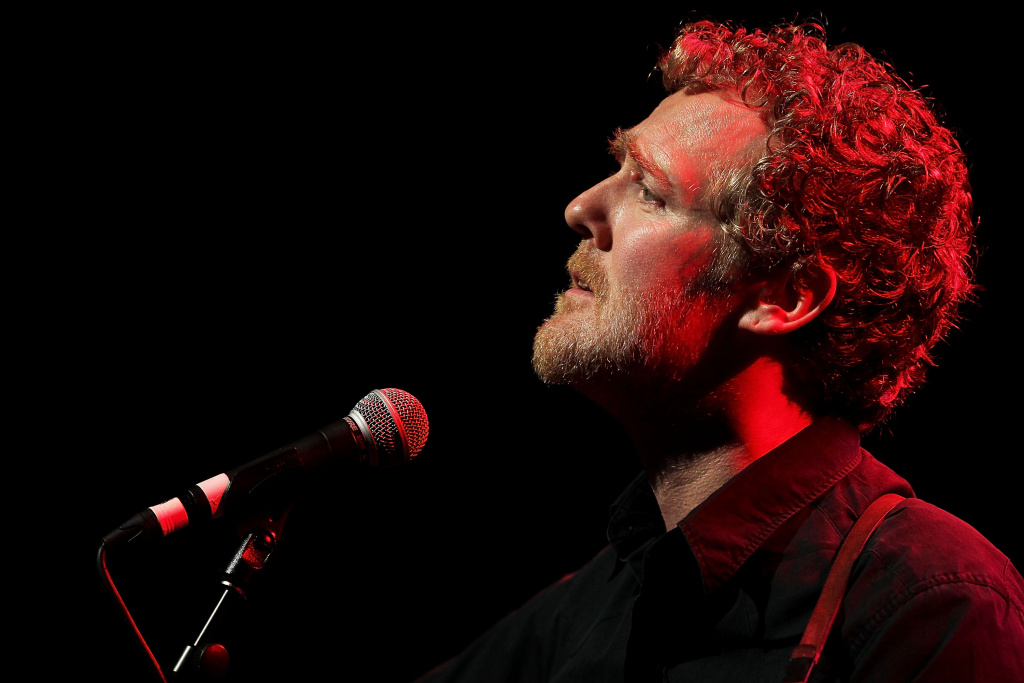 Glen Hansard performs with The Frames at the Sydney Opera House on March 25, 2013 in Sydney, Australia.
