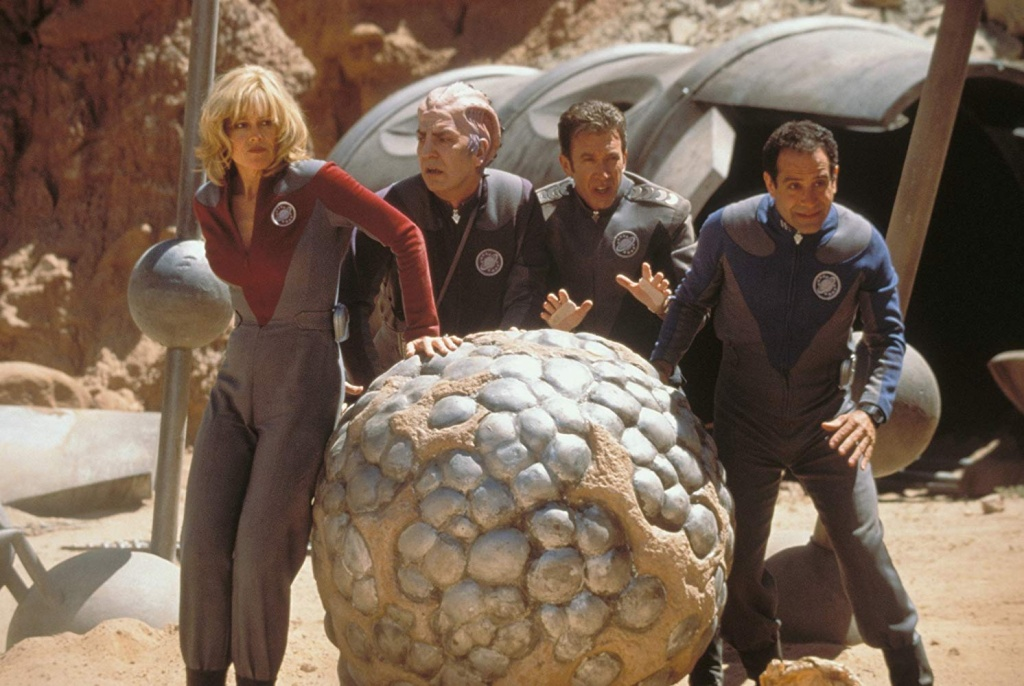 Sigourney Weaver, Alan Rickman, Tim Allen and Tony Shalhoub star in 1999's Galaxy Quest