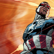 Sam Wilson, the new Captain America.