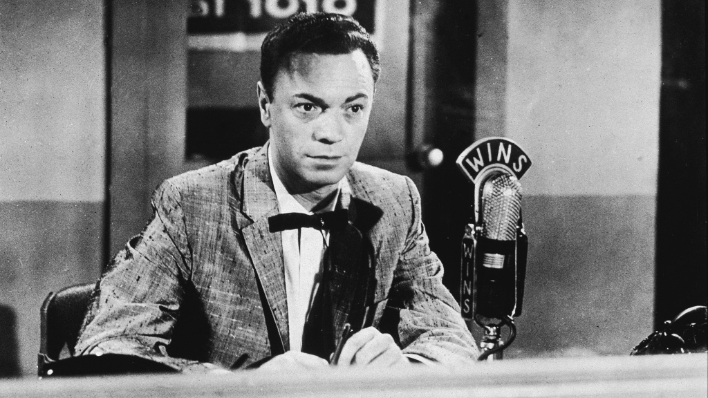 Radio DJ Alan Freed in the 1950s. Freed's pioneering career as a champion of rock and roll was marred by the revelation that he'd accepted