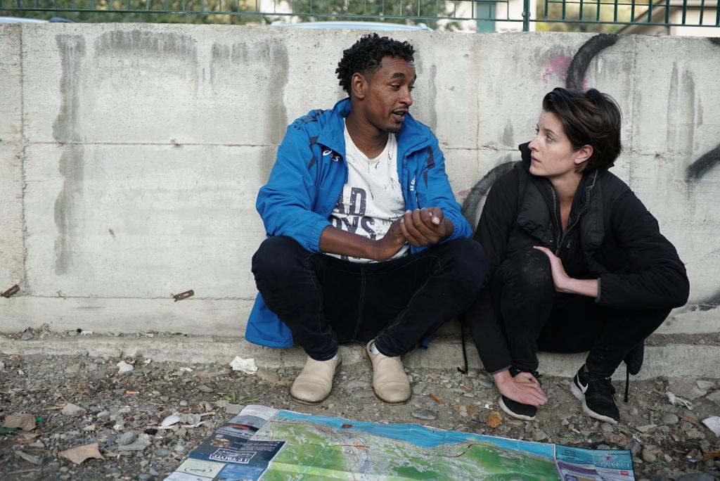 Gianna Toboni interviews immigrants who crossed the Mediterranean Sea into Europe.