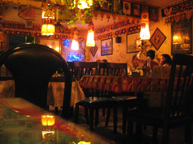 Beautiful decor at Paru's Vegetarian Indian will help set the mood. (Jason Lam via Flickr Creative Commons)