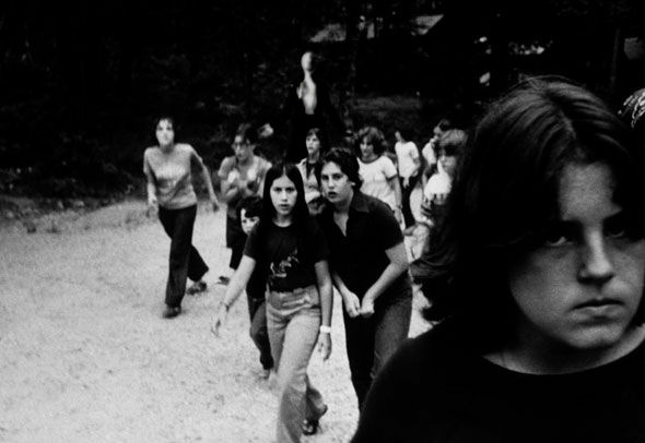 One of two original Slender Man Photoshop-manipulated images.