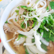 A bowl of homemade Pho.