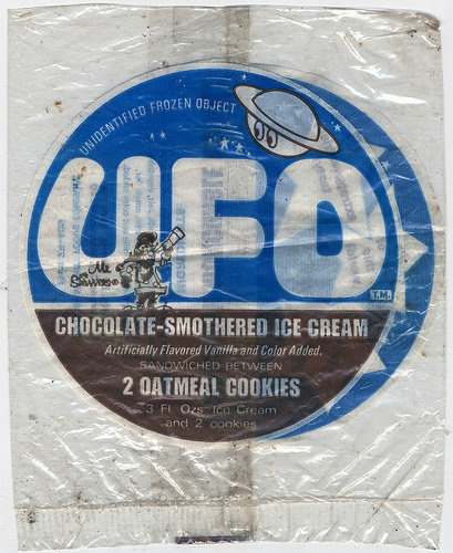 ufo ice cream sandwich