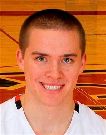 Grinell College guard Jack Taylor.