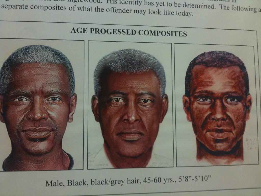 Age-progressed composites of the