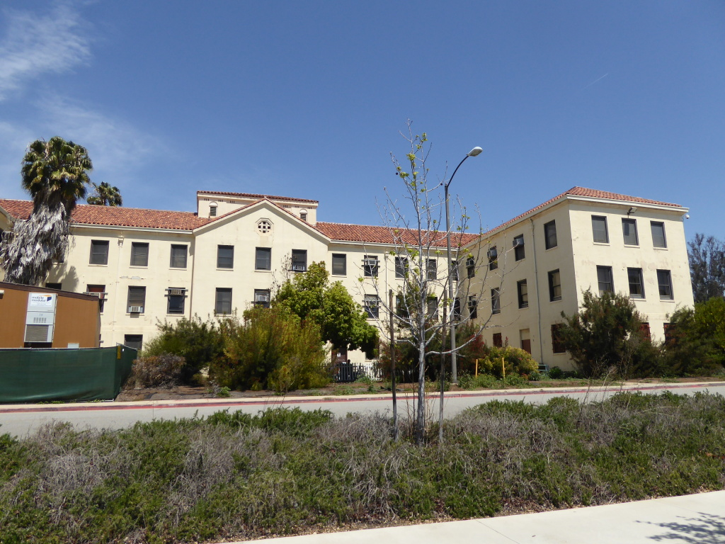 Building 256 on the West LA VA campus near Brentwood.