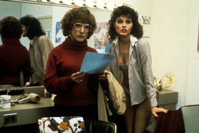Dustin Hoffman and Geena Davis star in