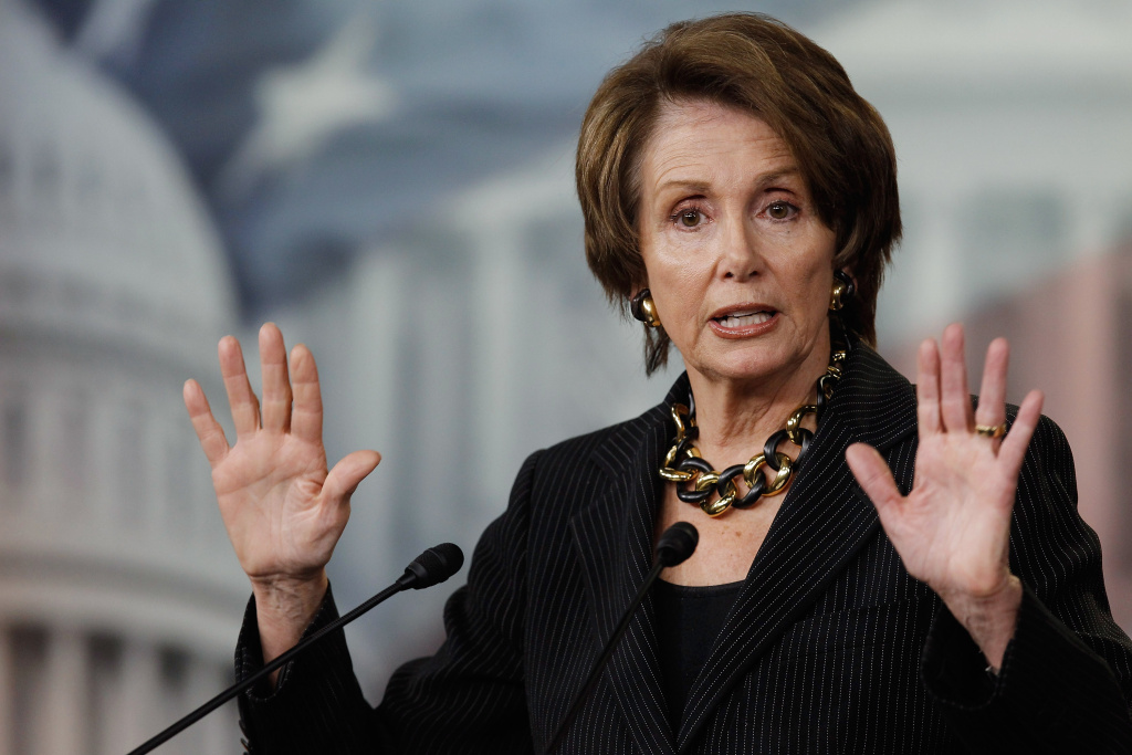 Nancy Pelosi: one of the bazillion bigwigs set to speak at the DNC's California Democrats breakfast.