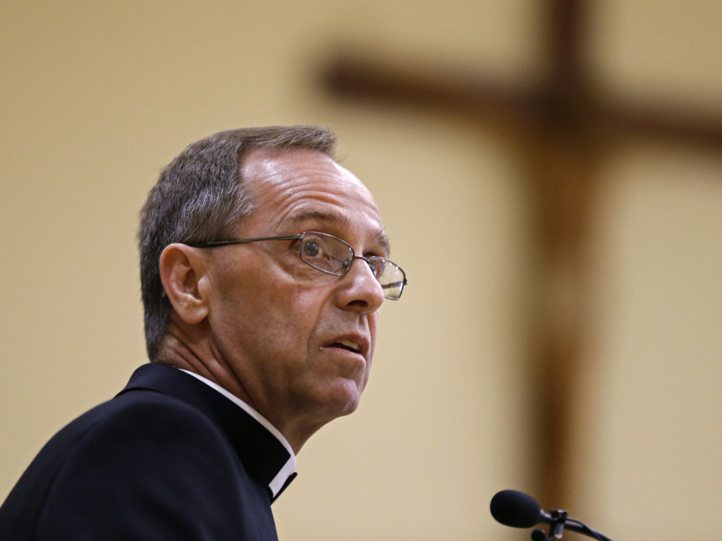 Cathedral High School leadership in Indianapolis says Archbishop Charles Thompson issued