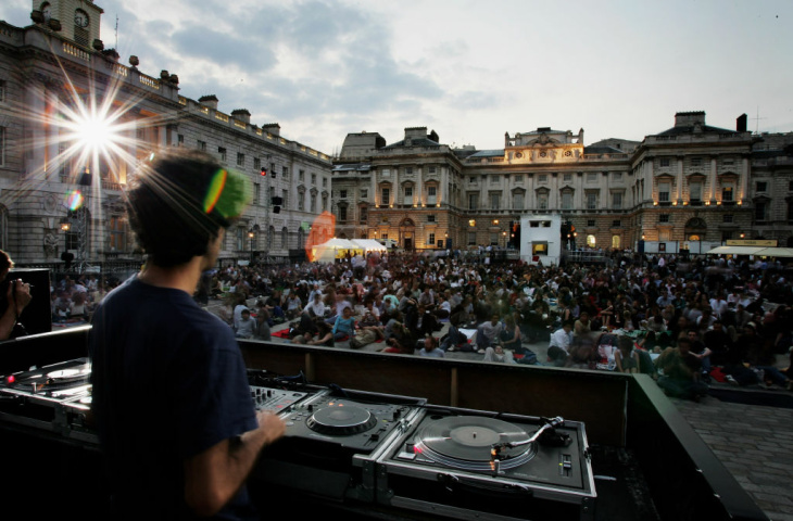 The Summer Screen At Somerset House