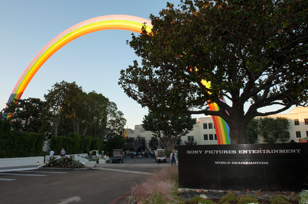 Sony Pictures Entertainment plans to lay off about 216 workers in Culver City this summer.