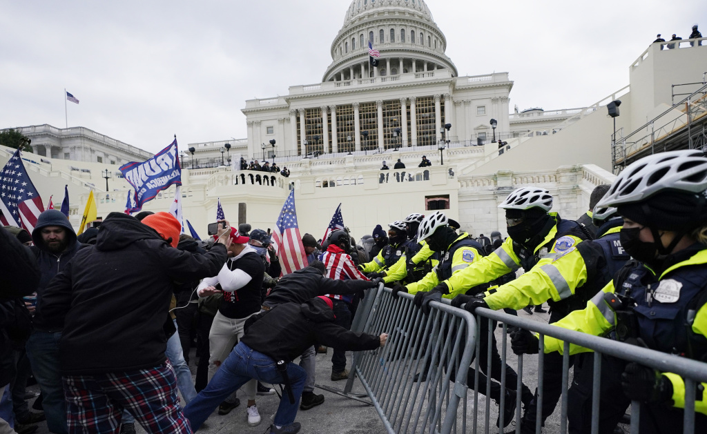 The Jan. 6 riot at the Capito has reinvigorated a long-running debate about whether the U.S. should have a domestic terrorism law. As a candidate, President Biden said he would seek such a law. Since Biden took office, his administration has said only that the matter is under review.